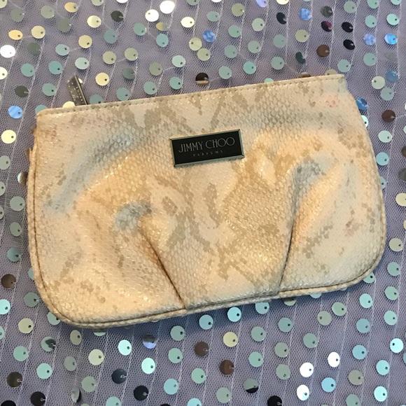 152e82bd362 Jimmy Choo Handbags - Jimmy Choo Parfums Pink makeup clutch